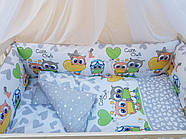 Детское постельное бельё в кроватку ТМ Bonna купон Серое, фото 2