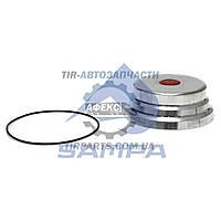 Крышка ступицы SAF SK9022 / 9042 d=182*72 (200х75 по наружному) (без гребенки ABS) (3304007200 | 075.053)