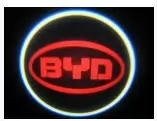 Проекция логотипа автомобиля BYD