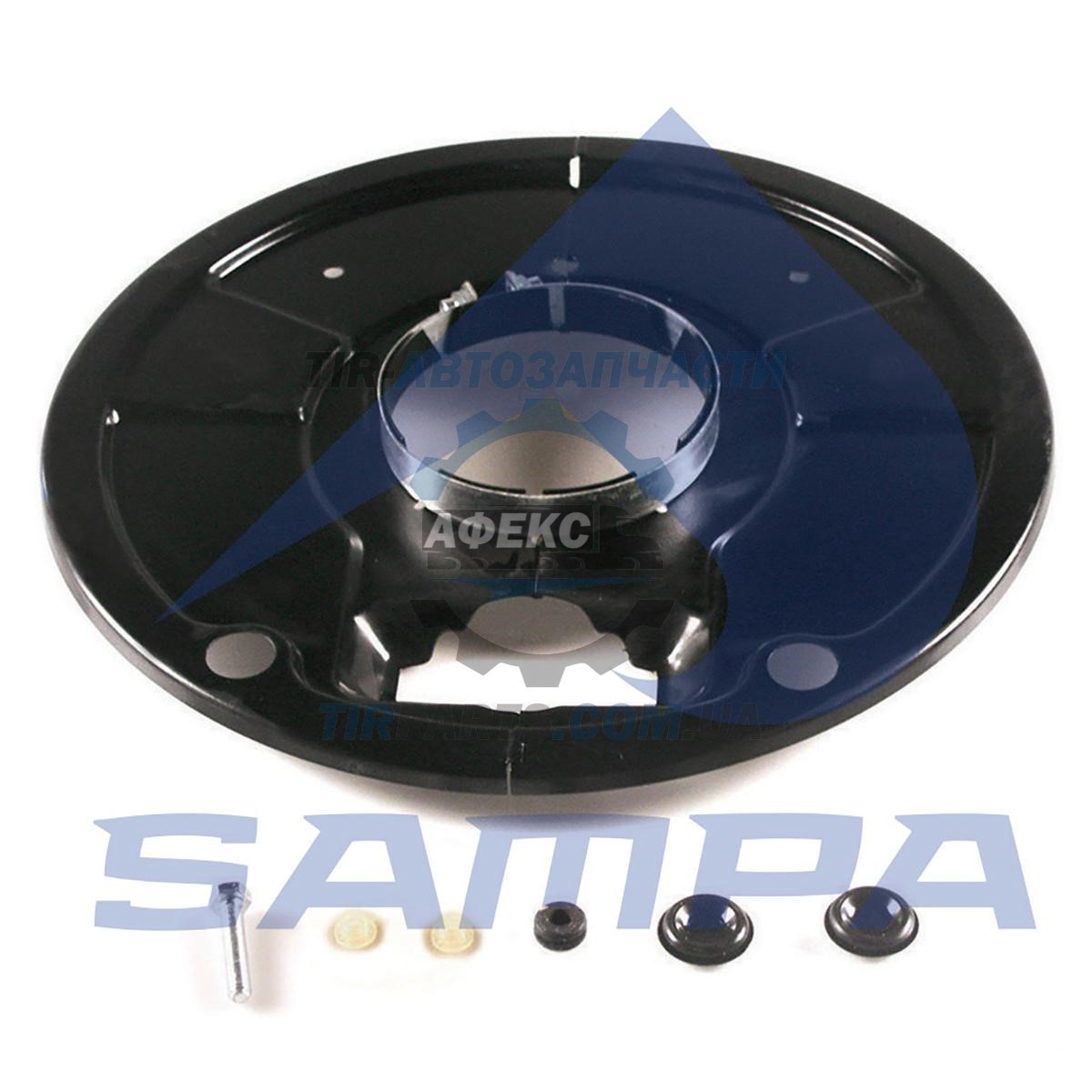 Пыльники(защита) тормозного барабана колесный SAF SK RS / RZ 9037 / 11037 с хомутом 127x400x25 на ось