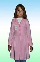 Платье кардиган вязаное для девочки (Б,О,Л)