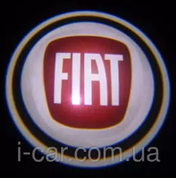 Проекция логотипа автомобиля Fiat