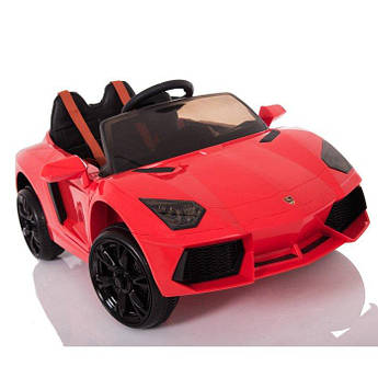 Детский электромобиль T-753 EVA RED на Bluetooth 2.4G Р/У 12V4.5AH мотор 2*15W 106*62*46