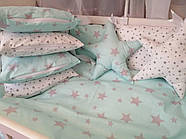 Детское постельное бельё в кроватку ТМ Bonna Перфект Мятное, фото 2