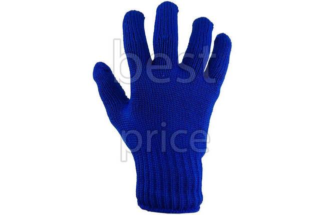 """Перчатки Тайфун - """"знак"""" синие, фото 2"""