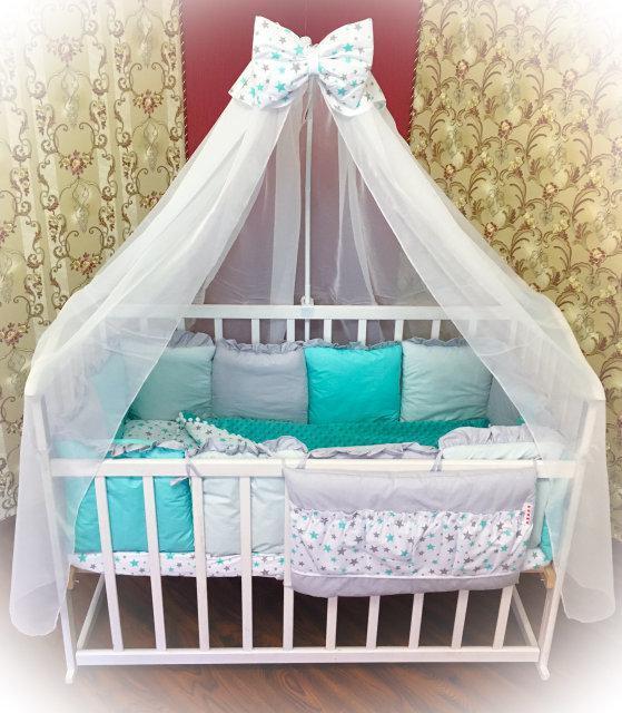 Детское постельное бельё Bonna Минки Бирюзовое