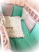 Детское постельное бельё Bonna Минки Бирюзовое, фото 3