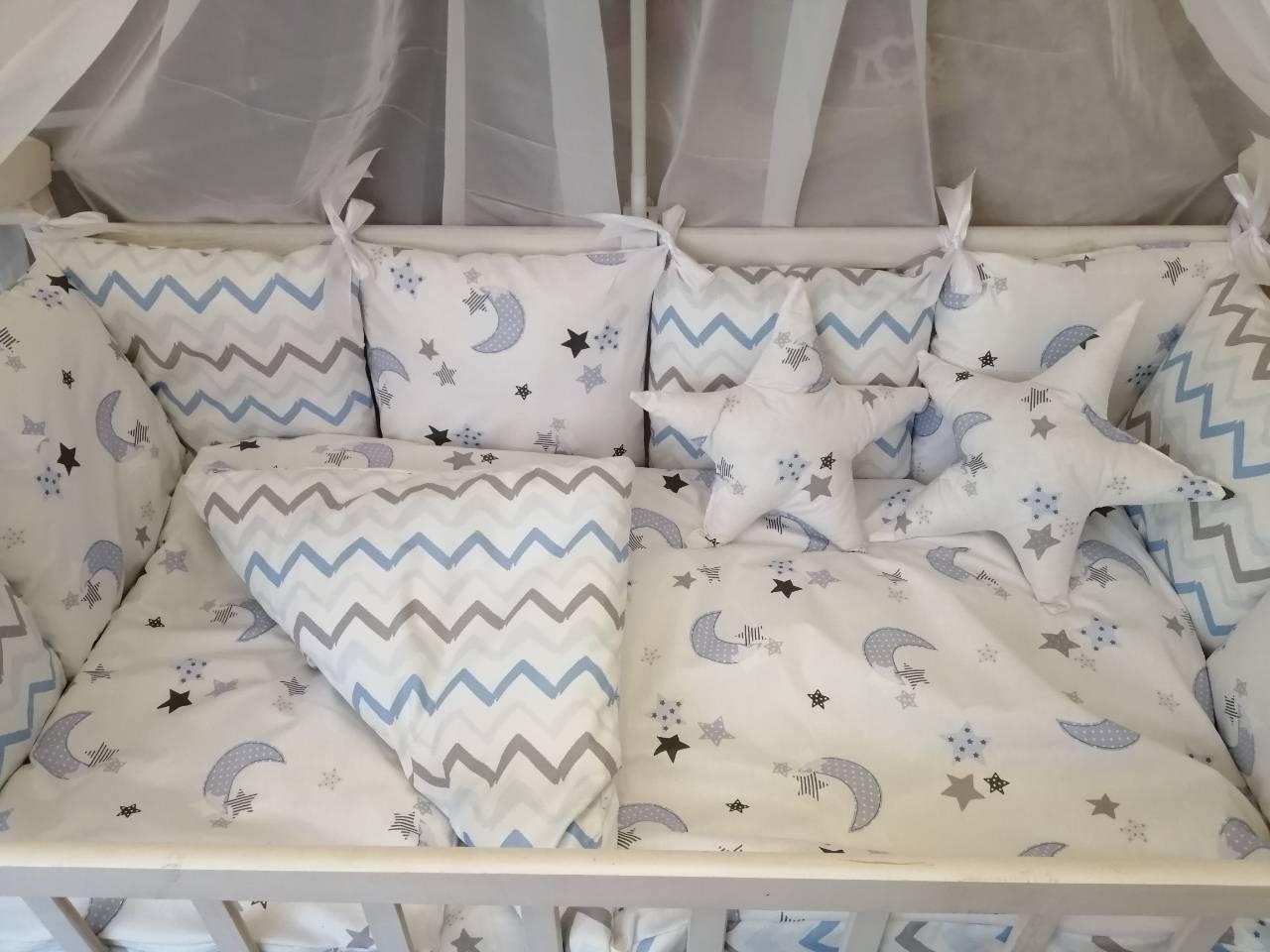 Детское постельное бельё в кроватку ТМ Bonna Перфект Белое
