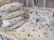 Детское постельное бельё в кроватку ТМ Bonna Перфект Белое, фото 2