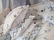 Детское постельное бельё в кроватку ТМ Bonna Перфект Белое, фото 3