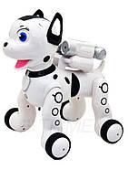 Собака интерактивная на радиоуправлении с аккумулятором и usb зарядкой с музыкой 1034A, фото 2