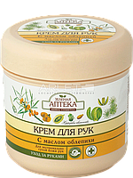 Крем для экстремально сухой кожи рук с маслом облепихи - Зеленая Аптека 300мл.