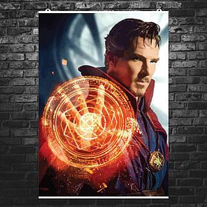 "Постер ""Доктор Стрэндж, рисунок"". Dr.Strange, Марвел. Размер 60x42см (A2). Глянцевая бумага"