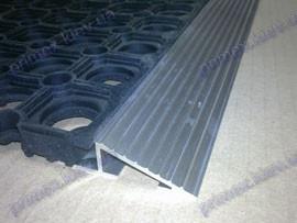 Обрамление наружное алюминиевое, 20мм. для укладки придверных грязезащитных ковров-решеток - Тексигум в Киеве