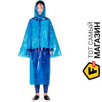 Дождевик Naturehike Poncho Raincoat Light Rain Blue (NH15A001-C)