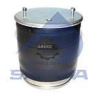 Пневморессора\Пневмоподушка 4881MB (4881NP03,BPW36K) 2 шпильки(смещены)+воздух М22мм стакан (металл) 2 болта (0542941311 | SP 554881-K)
