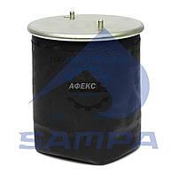 Пневморессора 4913NP04 (SCANIA 4/5-серия) 2 шпильки+воздух М16мм(смещен) без стакана (1379393 | SP 554913)