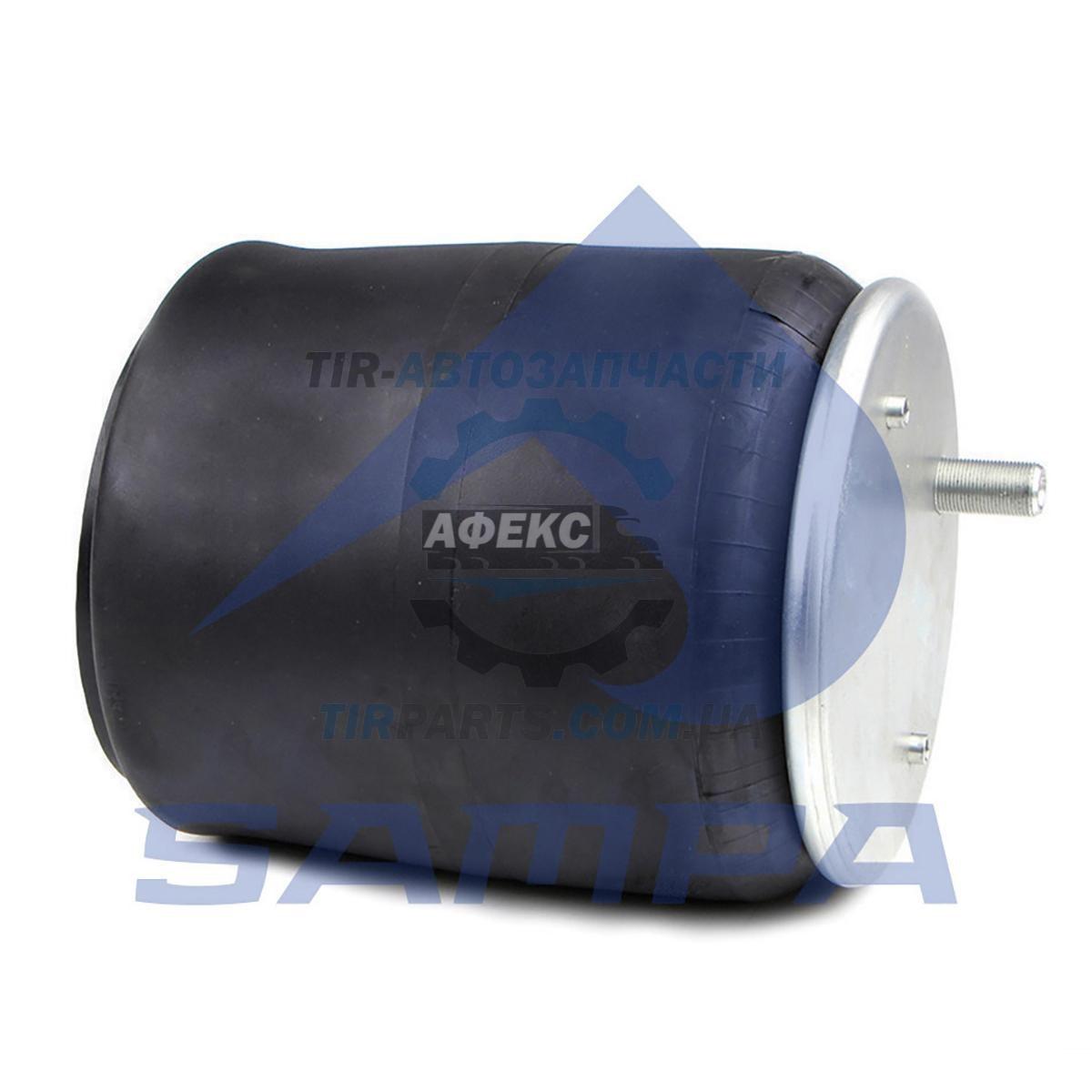 Пневмоподушка с пластиковым cтаканом SCHMITZ 2 шпильки-воздух W01M586318, US06318F (016512 | SP 556318-KP)