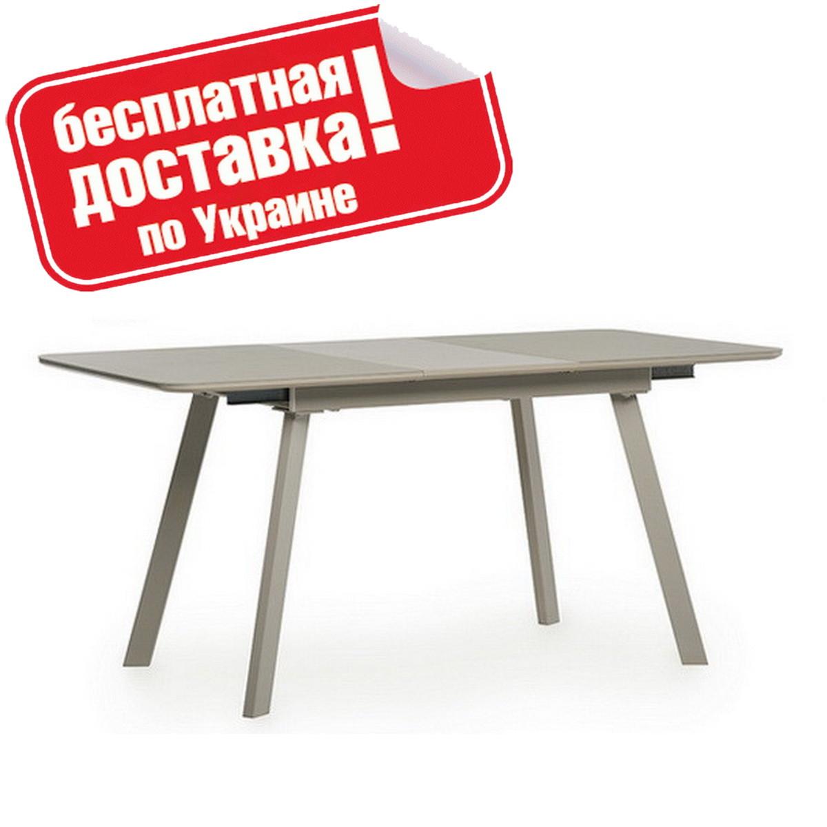 Стол обеденный TM-170 Капучино сатин 120/160х80х76 см.
