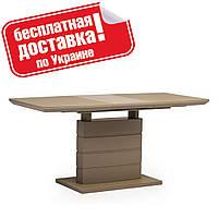 Стол обеденный TMM-50-1 Матовый мокко 120/160х80 см., фото 1
