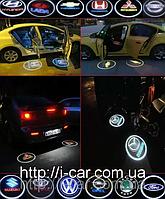 Проекция логотипа автомобиля F.C.B