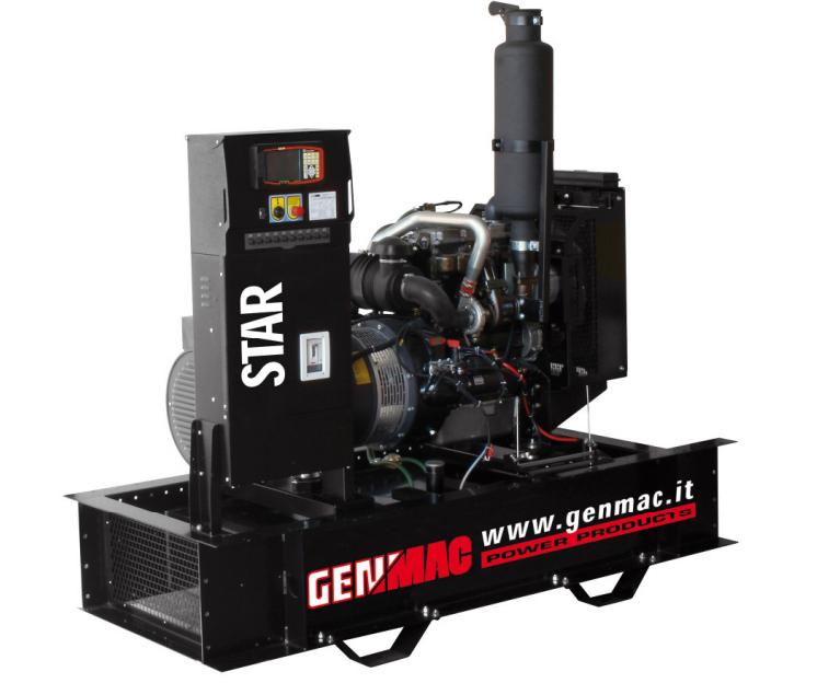 Трехфазный дизельный генератор Genmac Star G40IOM (44 кВа)