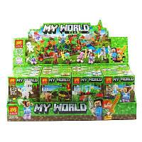 Детская игрушка Конструктор Minecraft 41 дет 33176