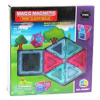 Детская игрушка Конструктор магнитный 14дет 6867