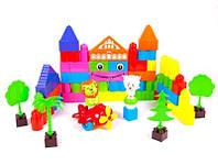 Детская игрушка Конструктор пластик 50дет в пакете KW-000-301