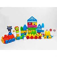 Детская игрушка Конструктор пластик 64дет в пакете KW-000-302