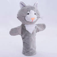 Детская игрушка Мягкая игрушка рукавичка Котик 00613-1