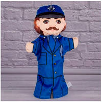 Детская игрушка Мягкая игрушка рукавичка Полицейский 00654-30