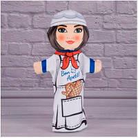 Детская игрушка Мягкая игрушка рукавичка Повар 00654-10