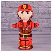 Детская игрушка Мягкая игрушка рукавичка Пожарик 00654-20
