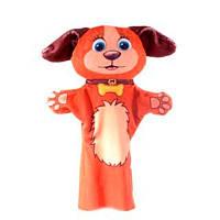 Детская игрушка Мягкая игрушка рукавичка Собачка 00604-1