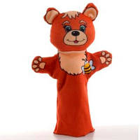 Детская игрушка Мягкая игрушка рукавичка Ведмедик 00603-1