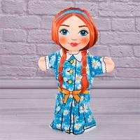 Детская игрушка Мягкая игрушка рукавичка Внучка 00607-10