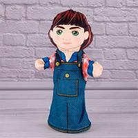 Детская игрушка Мягкая игрушка рукавичка Внук 00607-20