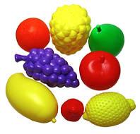 Детская игрушка Набор Фрукты 8 предметов в сетке KW-04-474