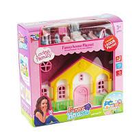 Детская игрушка Домик мебель, фигурки в кор-ке 18-18-7см KDL39-65-66