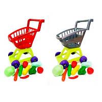 Детская игрушка Тележка с овощами KW-36-007