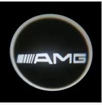 Проекция логотипа автомобиля AMG