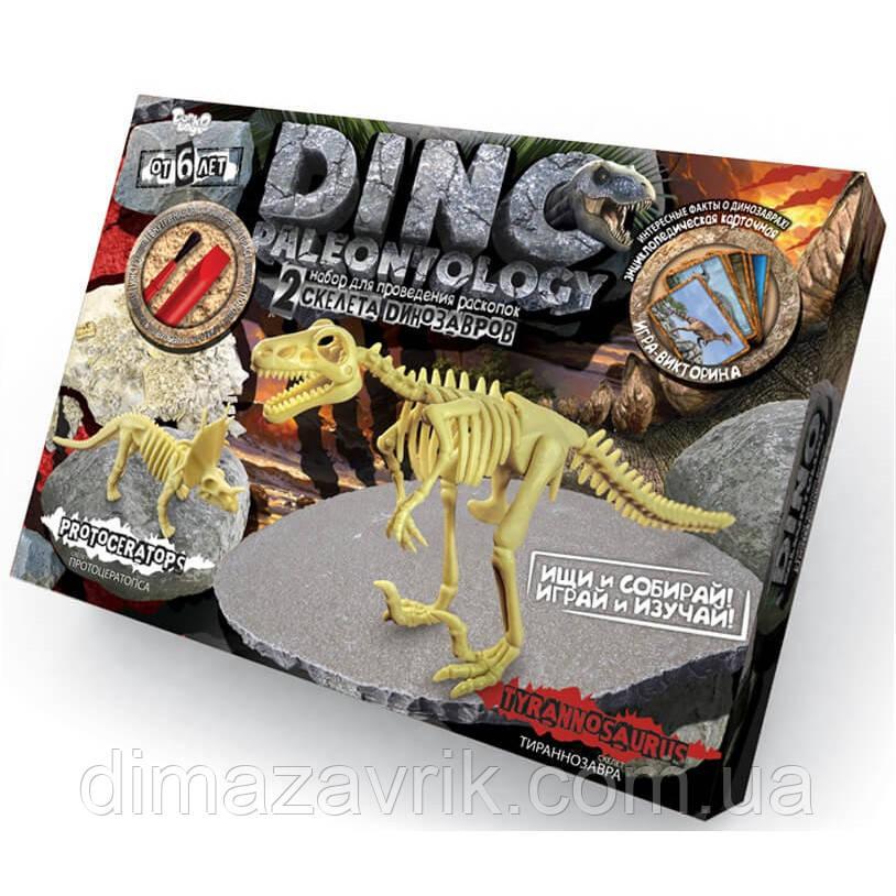 """Раскопки динозавров """"Dino Paleontology"""" Тиранозавр и Протоцератопс"""