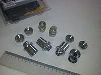 Гайки секретные М12х1,50х37,5, Walline (436445 Х2) внутр./с шайбой/вращ. кольцо/защ. колпачок
