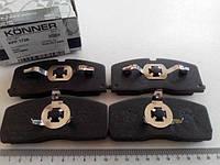 Колодки передние тормозные CK с ABS, Konner (KPF-1726)
