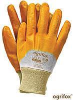 Перчатки рабочие защитные  OX-NITER BEP покрыты нитрилом