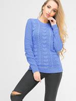 Стильный женский свитер с узором