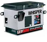 Однофазная газовая электростанция Whisper RG 10000 KSA (8,8 кВт)