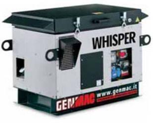 Однофазна газова електростанція Whisper RG 10000 KSA (8,8 кВт)