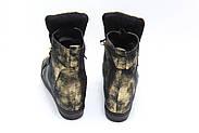 Женские зимние ботинки на скрытой танкетке ботинки Vensi V8, фото 4
